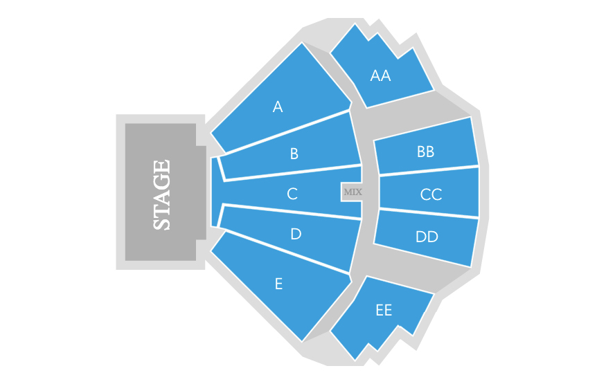 Seating charts also wamu theater seattle tickets schedule goldstar rh
