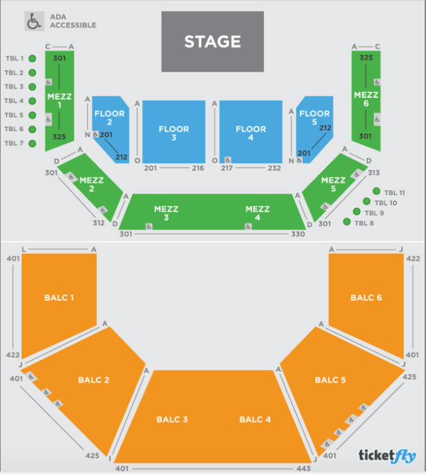 Acl Moody Theater Seating Capacity | Brokeasshome.com