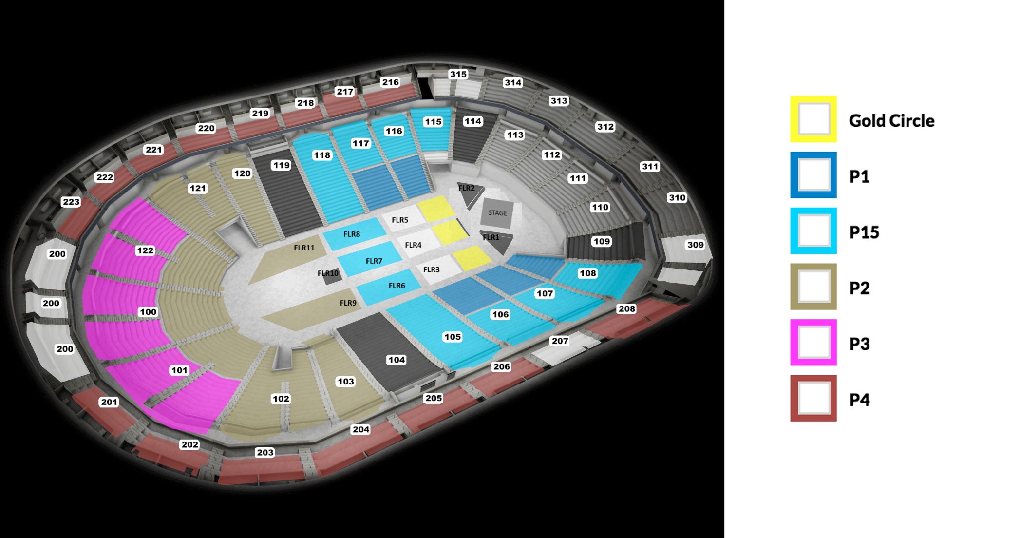 Lionel richie seating chart also infinite energy center arena atlanta tickets schedule rh goldstar