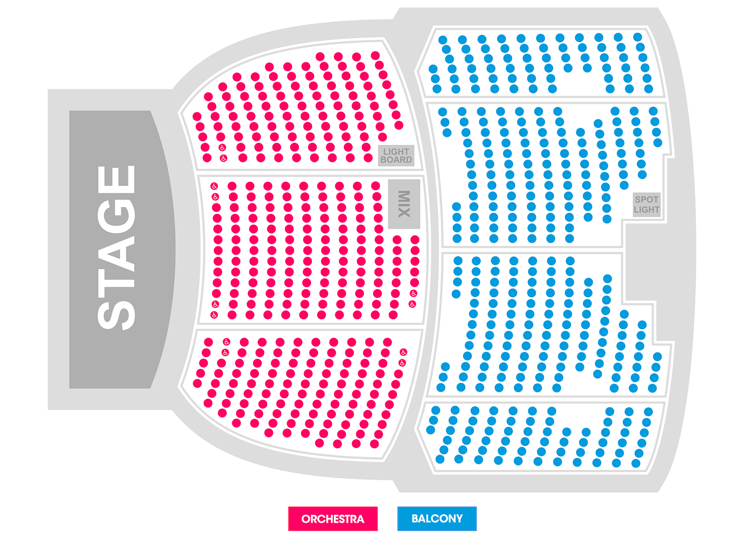 Seating charts egyptian theatre shopkins tickets also the boise schedule rh goldstar