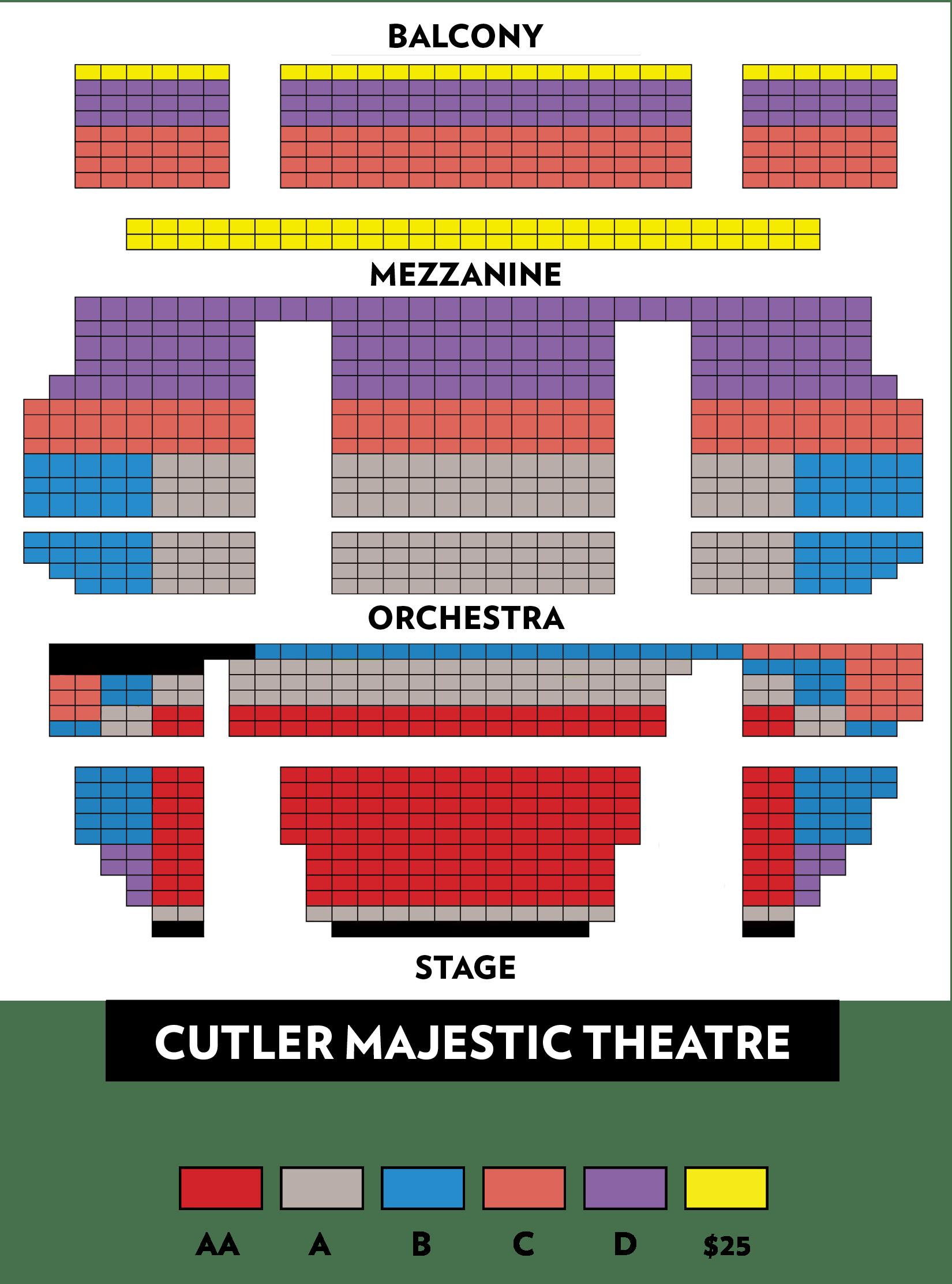 Boston lyric opera tosca also emerson cutler majestic theatre tickets schedule seating rh goldstar