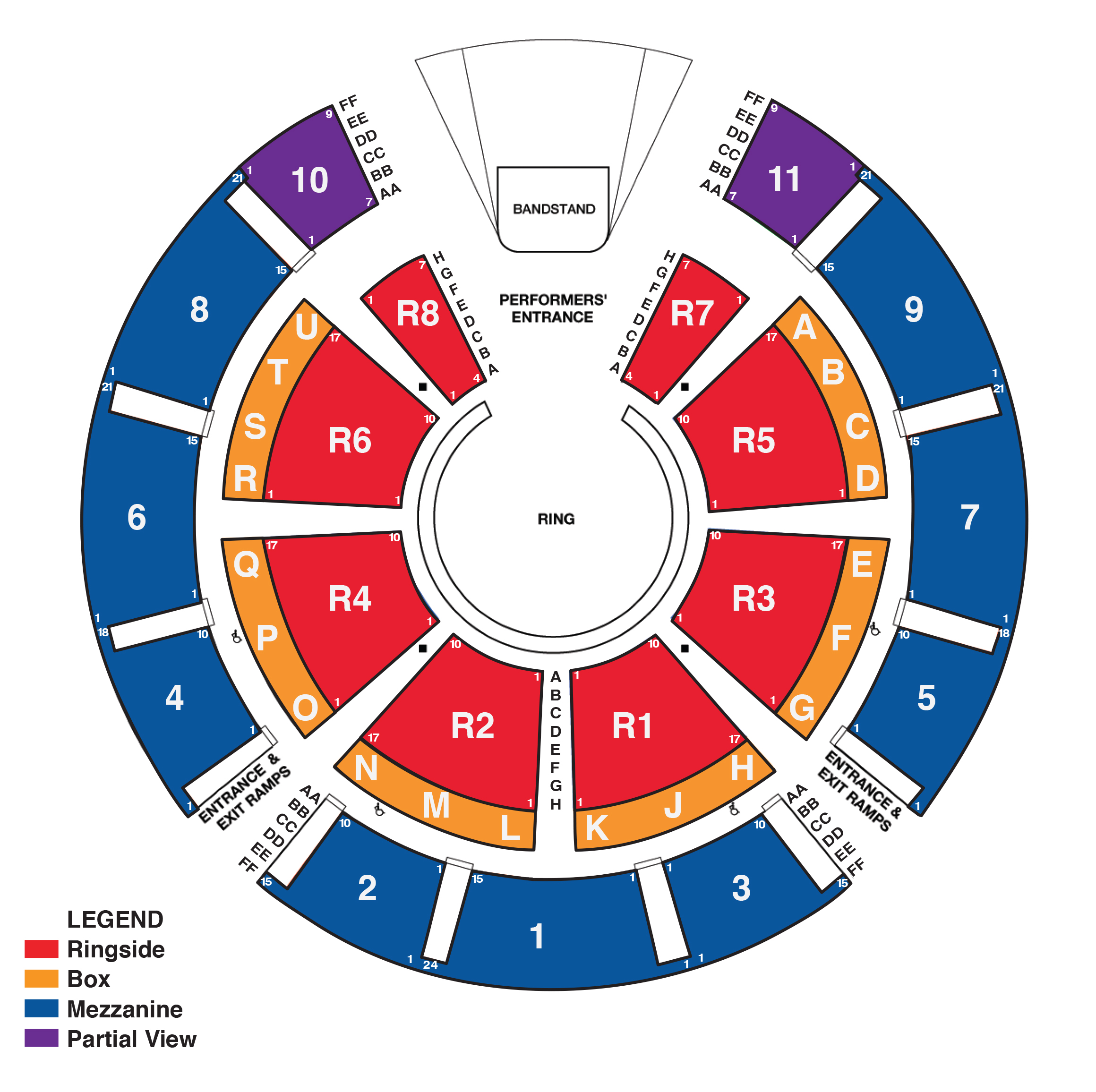Verizon wireless amphitheatre concert seating chart gwen stefani united we rock big apple circus also alpharetta ga tickets schedule rh goldstar