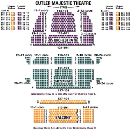 Cutler majestic seating also emerson theatre boston tickets schedule rh goldstar