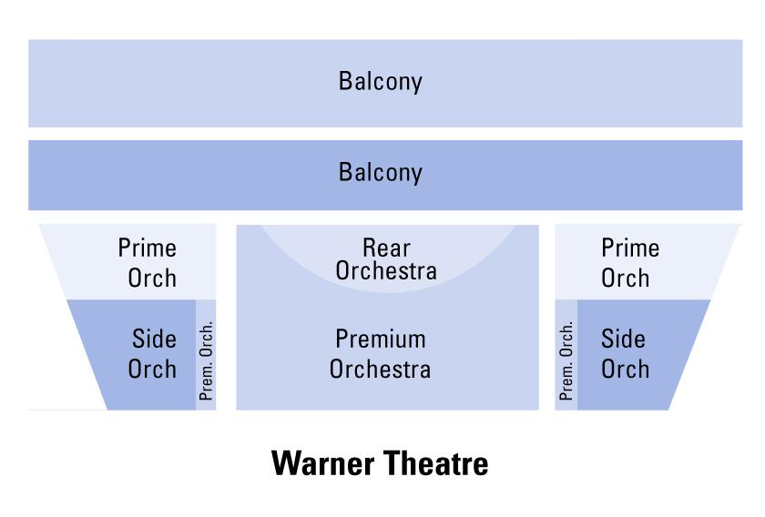 Warner theatre seating chart also washington   tickets schedule charts rh goldstar