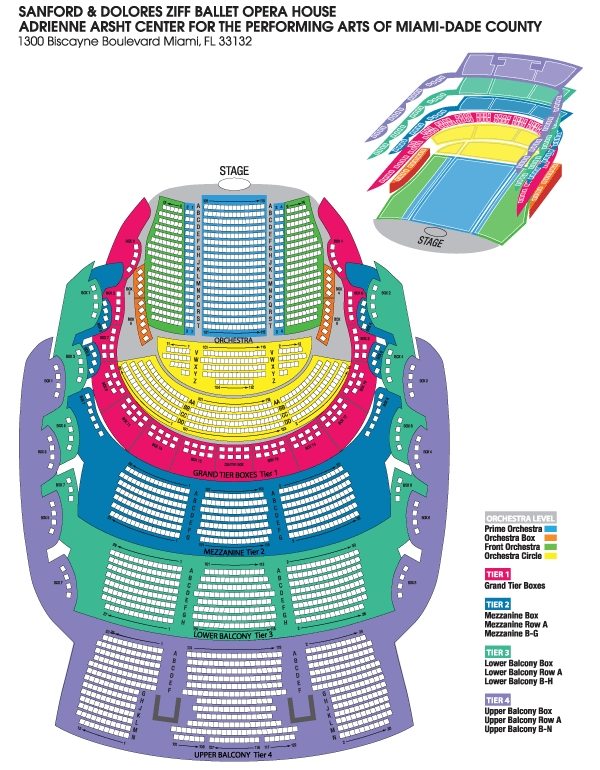 Seating charts ziff ballet opera house house ccpa lg florida grand also adrienne arsht center miami ft rh goldstar
