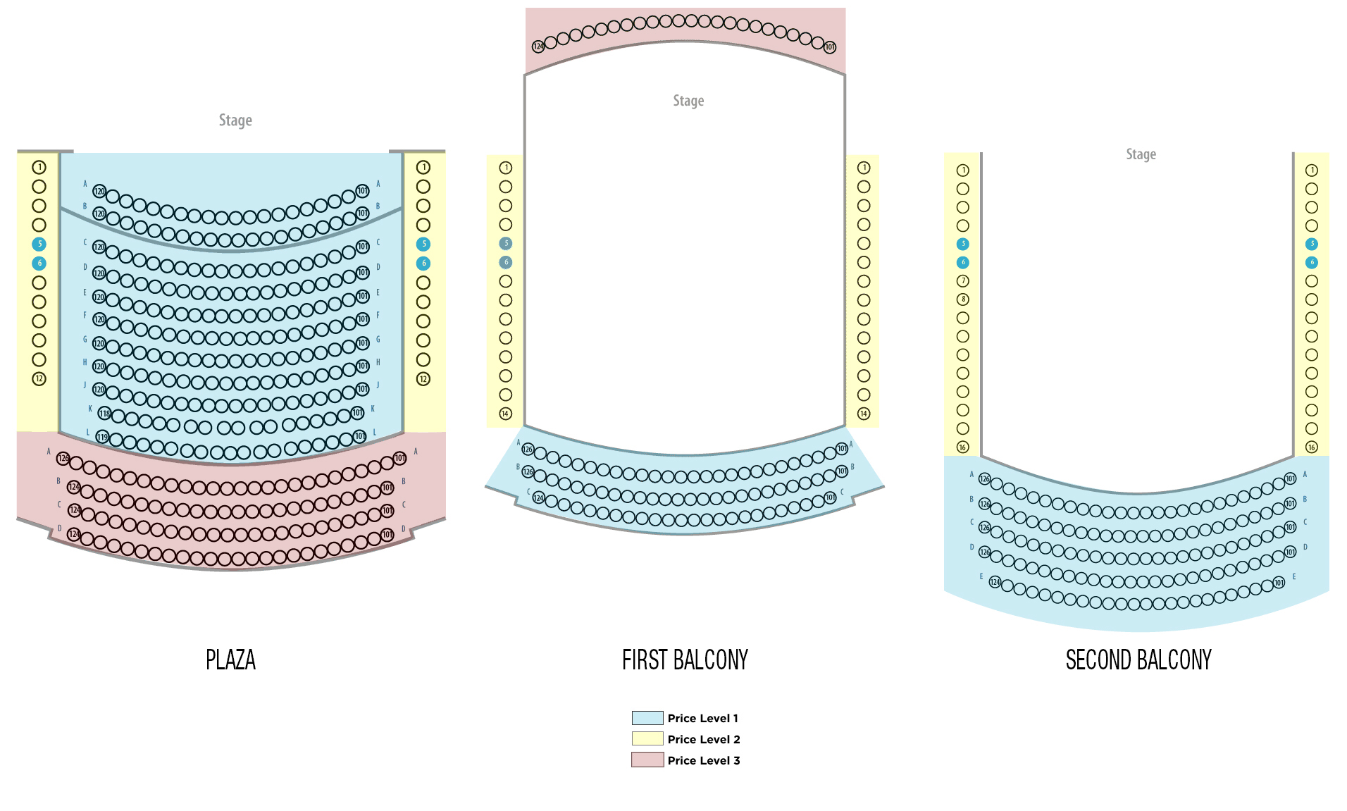 Seating charts kimmel perelman also center theater philadelphia tickets schedule rh goldstar