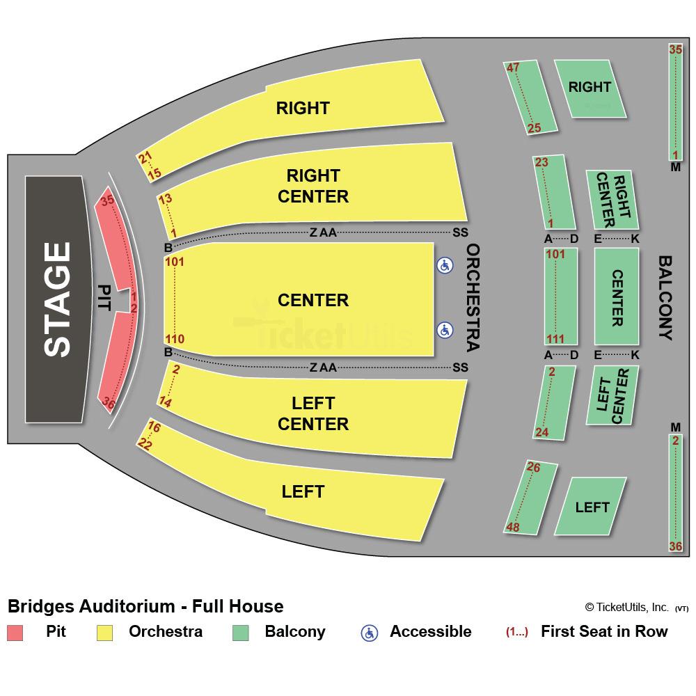 Fillmore Auditorium Seating Chart Wallseatco