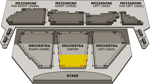 Seating charts sc winter garden theatre also new york tickets schedule rh goldstar