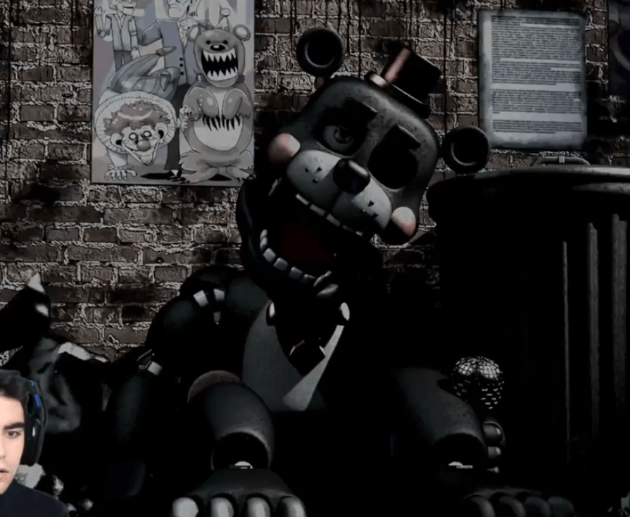 Freddy Fazbears Pizza Simulator Baby