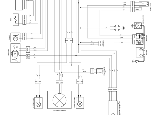 small resolution of by comparing the old and new wiring diagram where do i put the old ignition module wires to fit the new images below