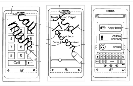 Nokia Granted Patent for Off Screen Gestures and Symbols