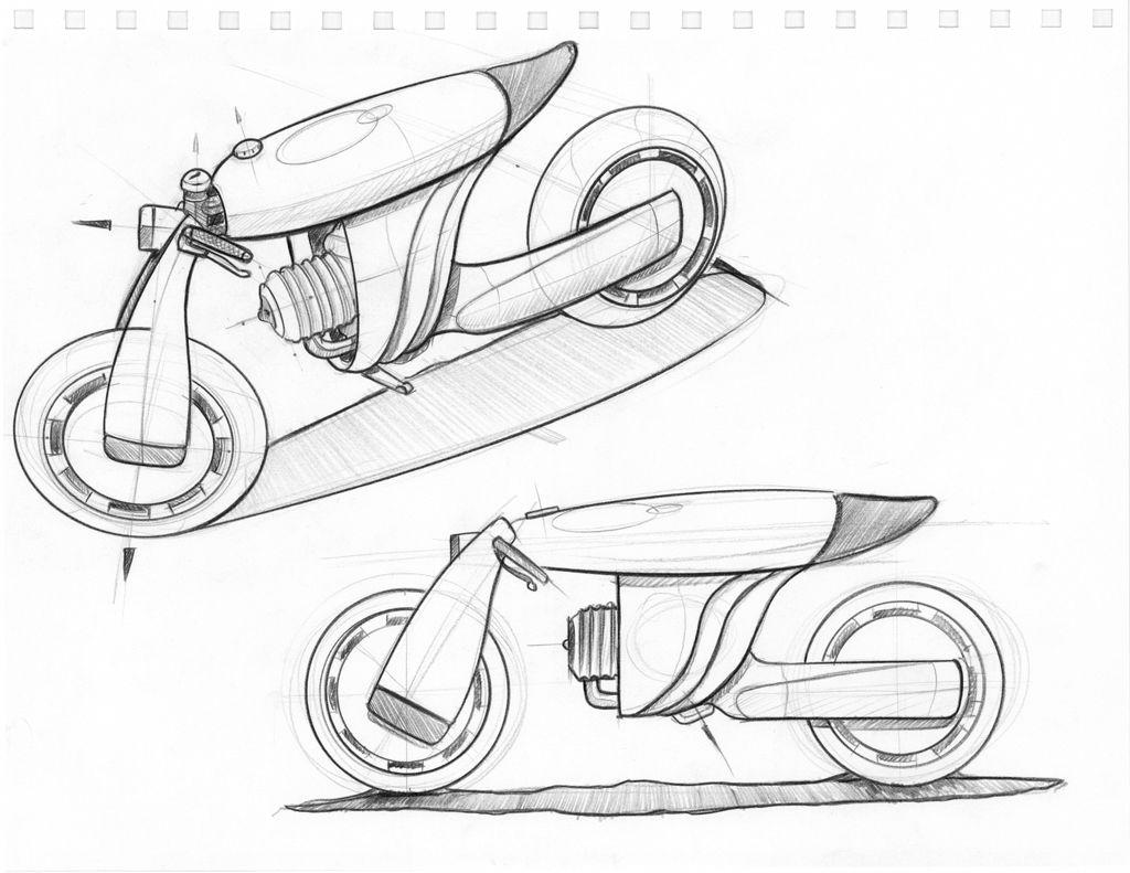 Zero Emission Concept Bike Zero Noir Zero Noir