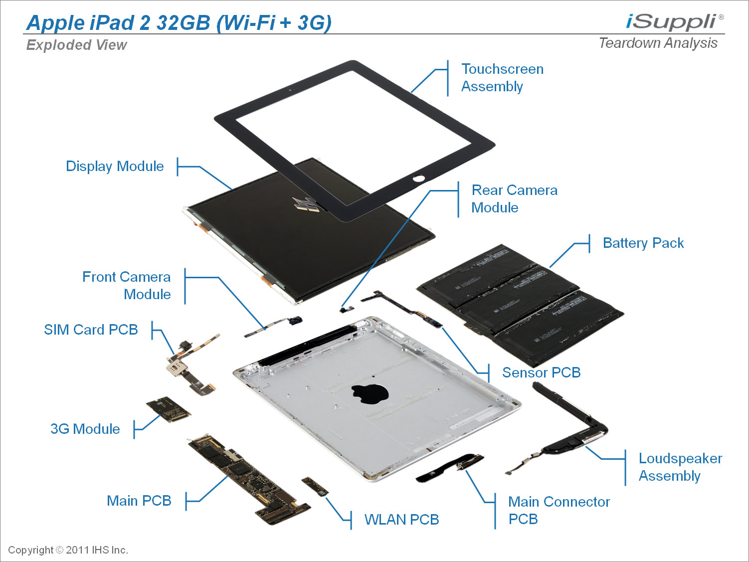 Ipad Parts Diagram
