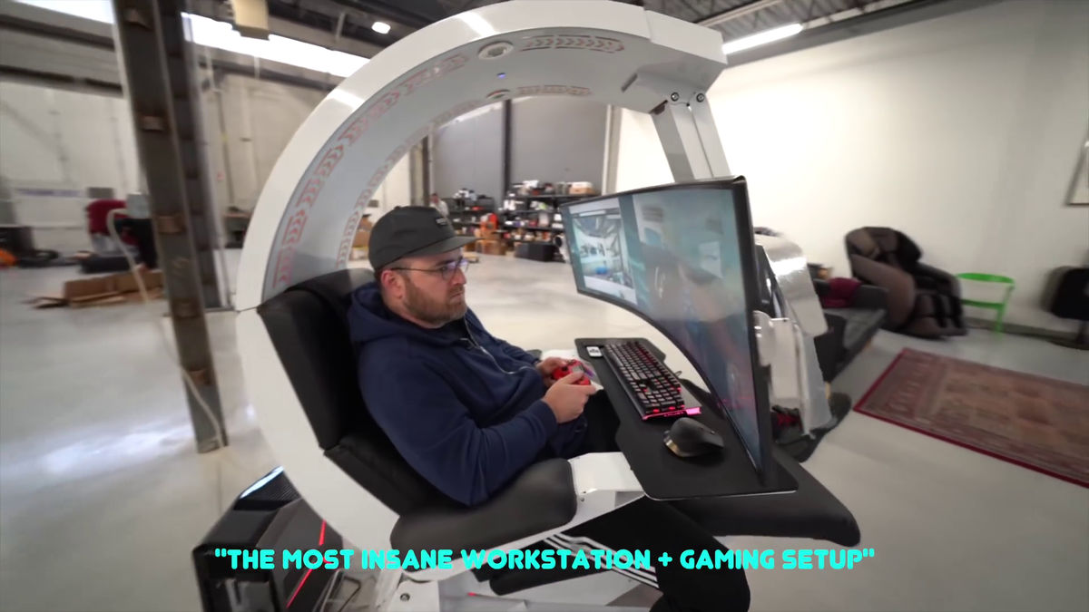 imperator works brand gaming chair reviews appeared a hero who built the ultimate pc environment that based on iw r1 i ve made never seen before so let s show it from now and am amazed