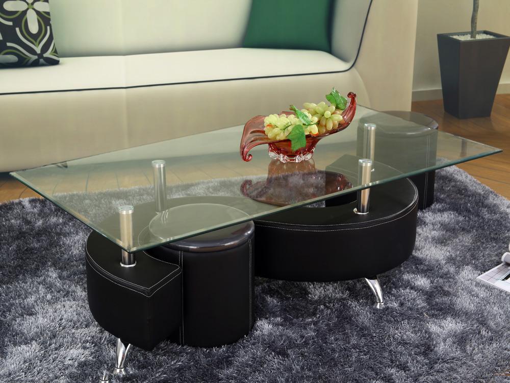 table basse design en verre alicia