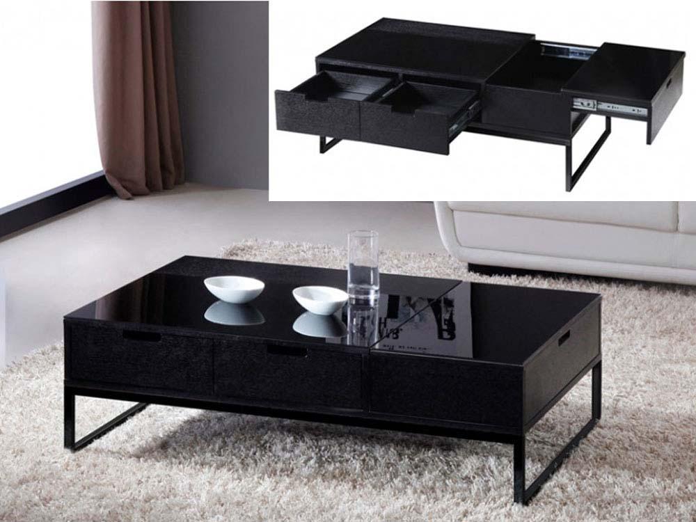 table basse rectangle morio en mdf