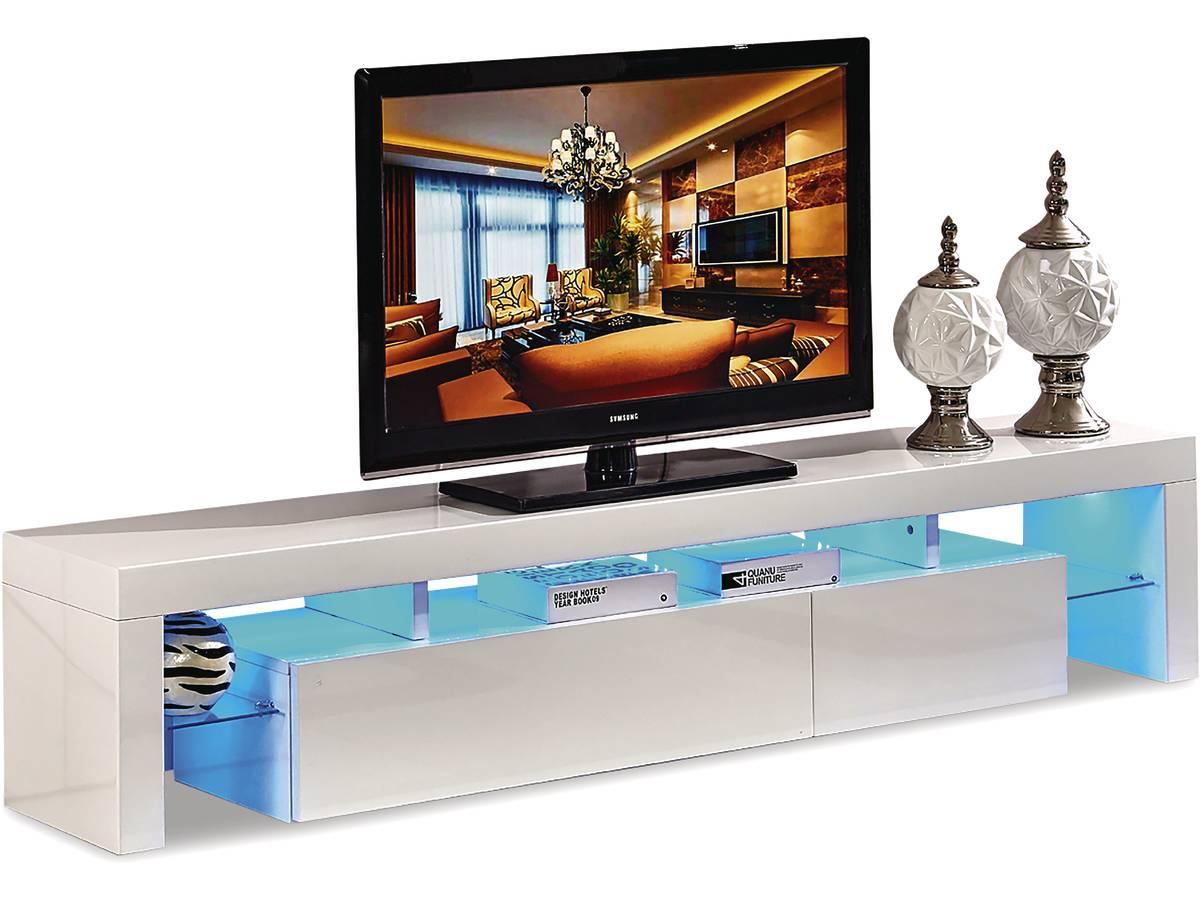 meuble tv led tina 188 x 34 x 38 cm