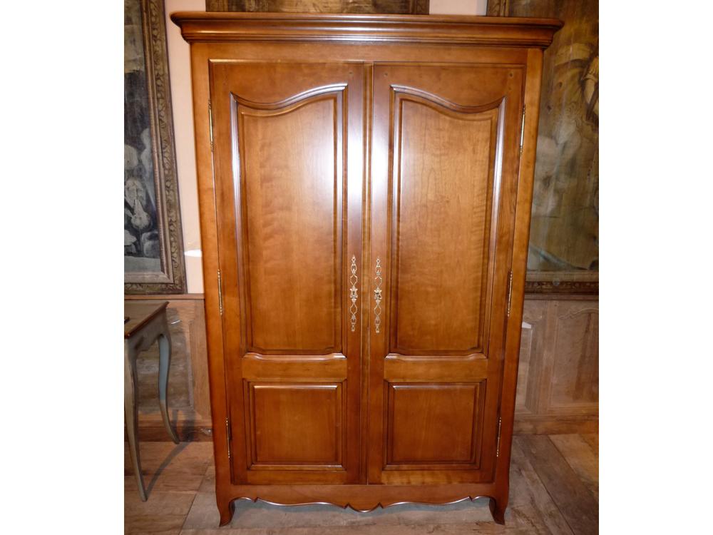 meuble tv armoire style louis xv