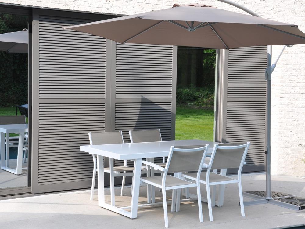 salon de jardin en aluminium loft 1