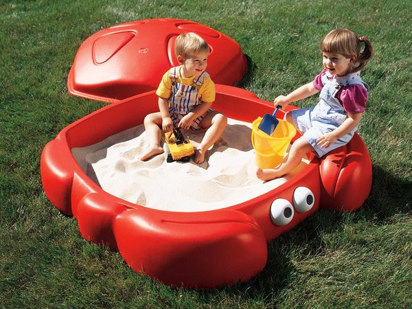 Bac Sable Crabbie Sandbox 58406