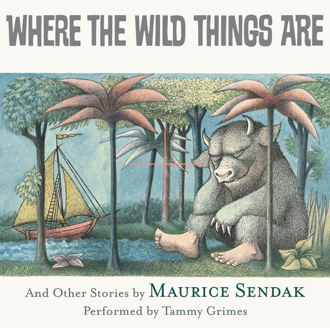 the wild things are poster book cover