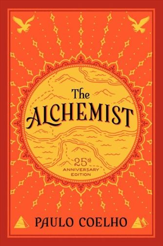 Image result for the alchemist book cover