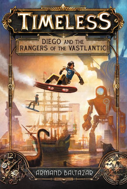 Timeless Diego and the Rangers of the Vastlantic  Armand