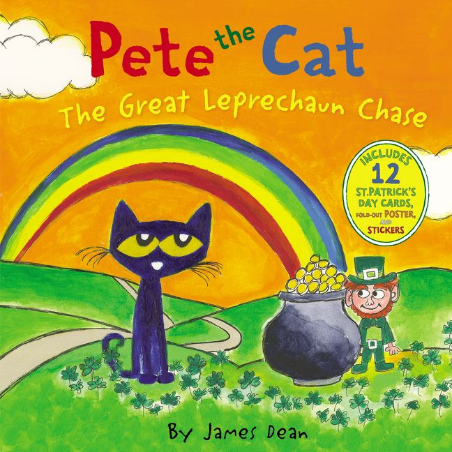 Pete The Cat The Great Leprechaun Chase James Dean