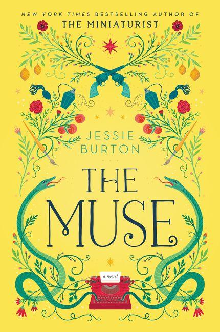Jessie Burton, The Muse viršelis