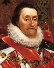 King of Great Britain James I Stuart
