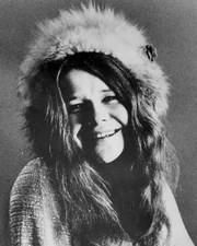Singer Janis Joplin