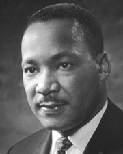Clergyman and Civil Rights Activist Martin Luther King Jr.