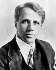 Poet Robert Frost