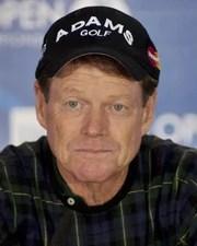 Golfer Tom Watson