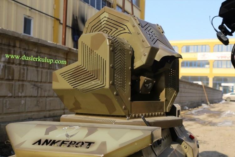 DBzgWy Yerli Yapım Milli Zırhlı Mini Tank Ankebot Hakkında Bilgi