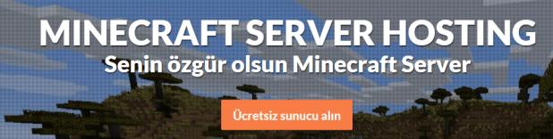Minecraft bedava server