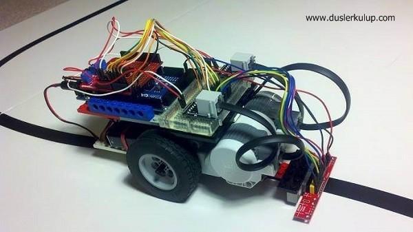 Plm5j6 Çizgi İzleyen Robot Malzemeleri ve Yapılışı