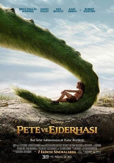 Pete ve Ejderhası - Pete's Dragon 2016 BluRay 720p - 1080p DUAL TR-ENG Türkçe Dublaj - Tek Link Film indir