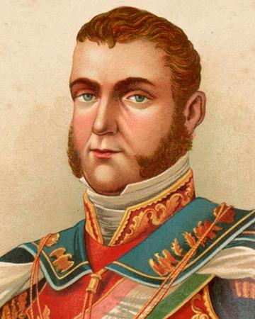 General y primer Emperador de México Agustín de Iturbide