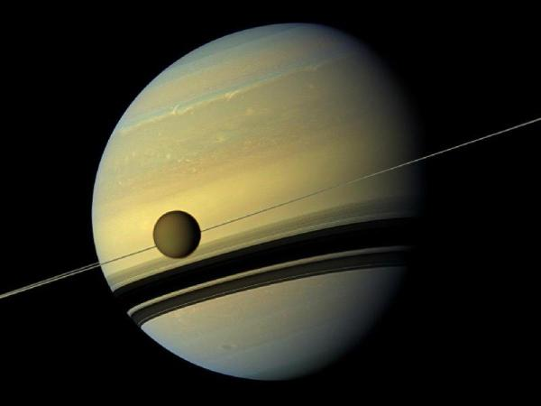 Saturn' Northern Lights Glow Luminous Blue In Hubble Huffpost