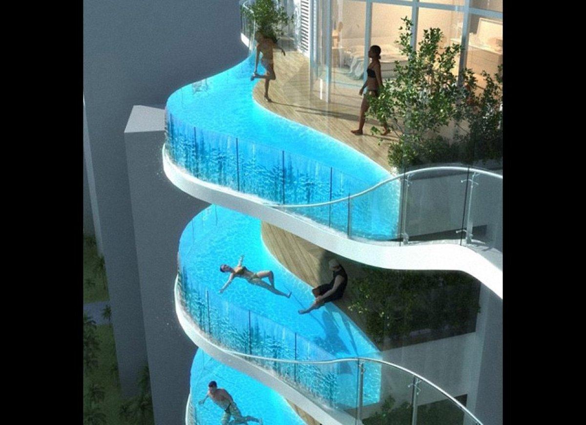 Aquaria Grande The Mumbai Apartment Complex With Swimming Pool Balconies PHOTOS  HuffPost
