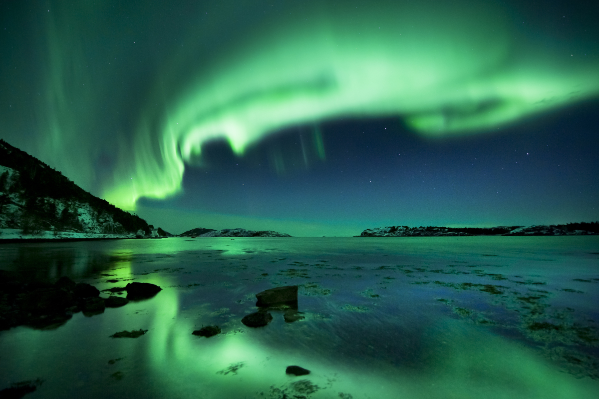 Northern Lights Iceland August