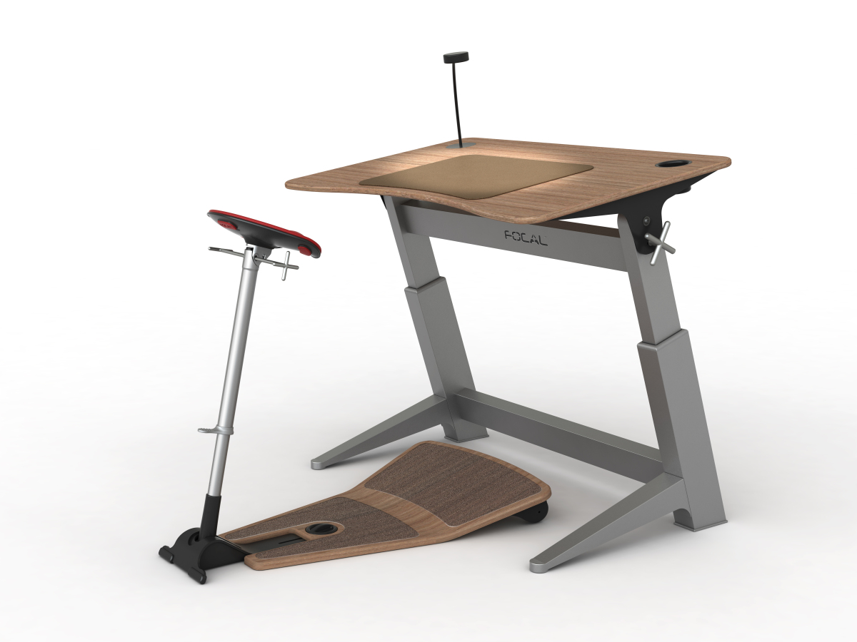 Standing Desk Chairs Focal Upright Furniture 39s Half Sitting Half Standing Desk