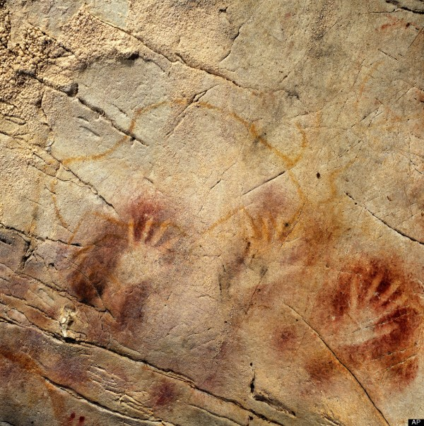 Ancient Cave Drawings In Brazil Depict Armadillos