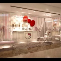 Hello Kitty Spa Pedicure Chair Table And 2 Chairs Garden World 39s First Opens In Dubai Photos