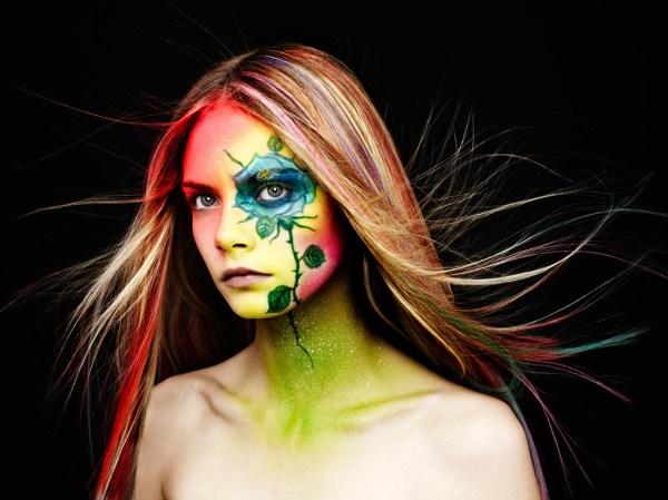 Rankin Teams With Makeup Artist Ayami