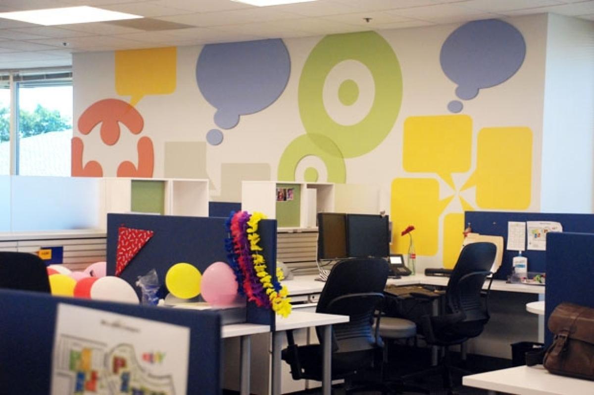 A Peek Inside The eBay Office In San Jose: Modern Design