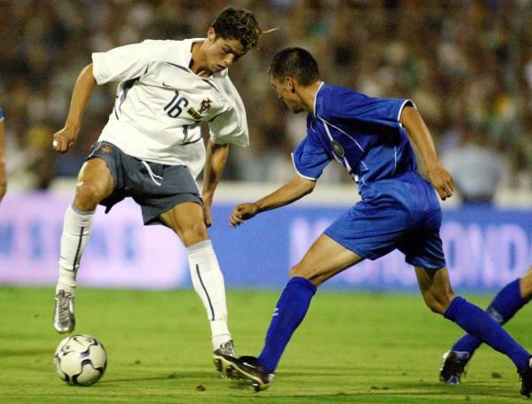 Cristiano Ronaldo Win 100th Cap Portugal