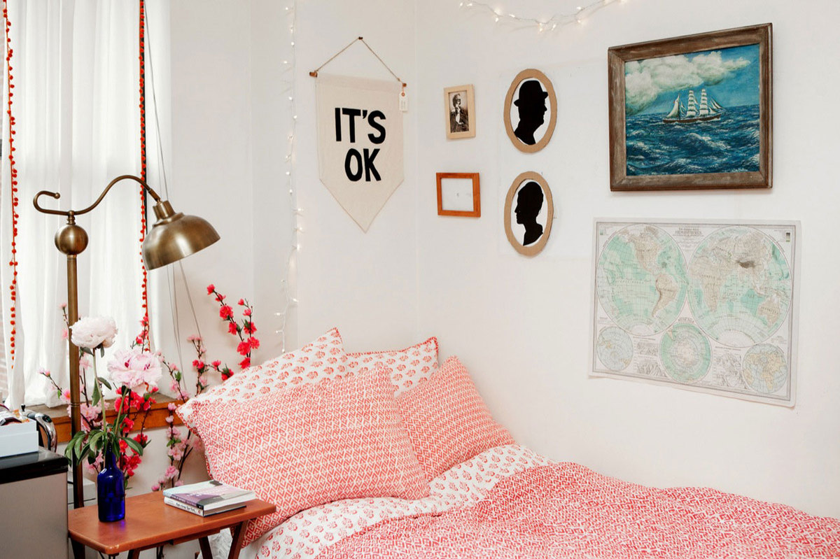 32 Ideas For Decorating Dorm Rooms, Courtesy Of The
