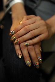 libertine fall 2013 nail art takes